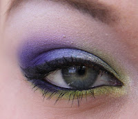 colorful makeup look