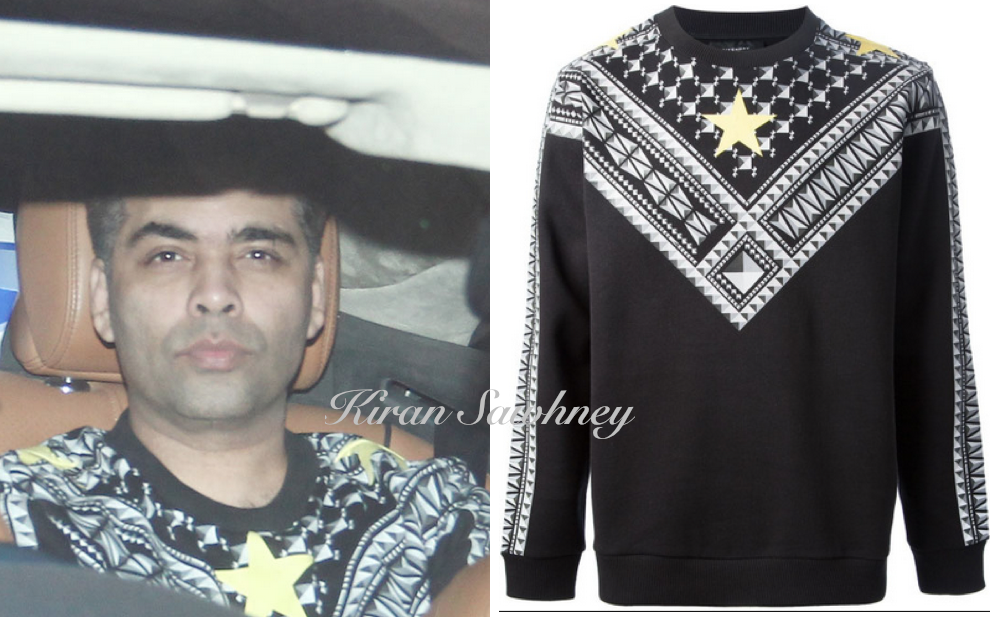 Karan Johar in Givenchy