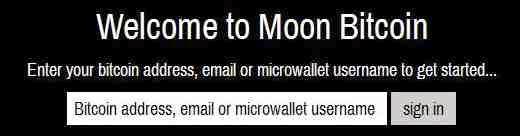 Moonbit sign in