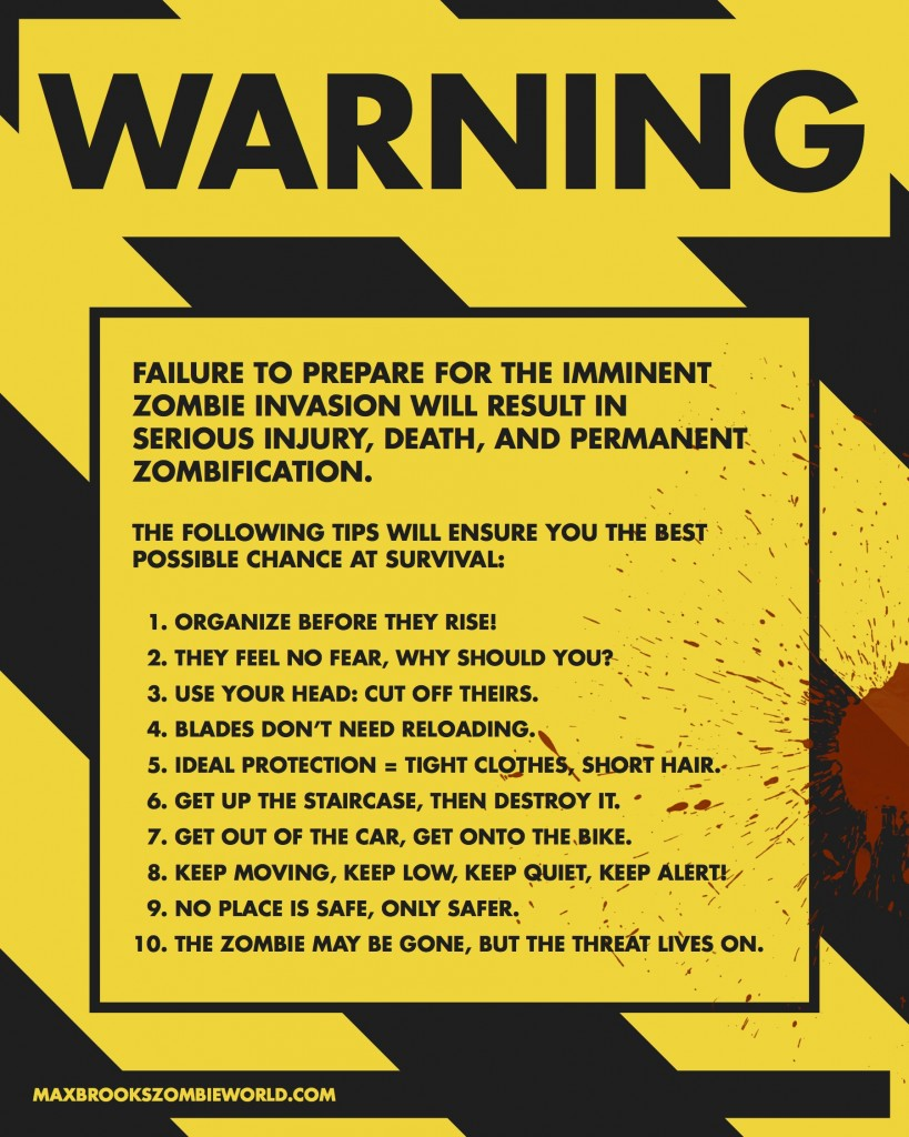 Zombie Apocalypse: Coming Soon To A Town Near You