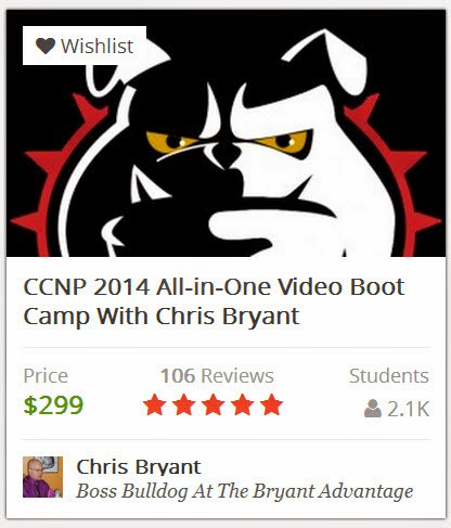 Chris Bryant's CCNP All-In-One Video Boot Camp