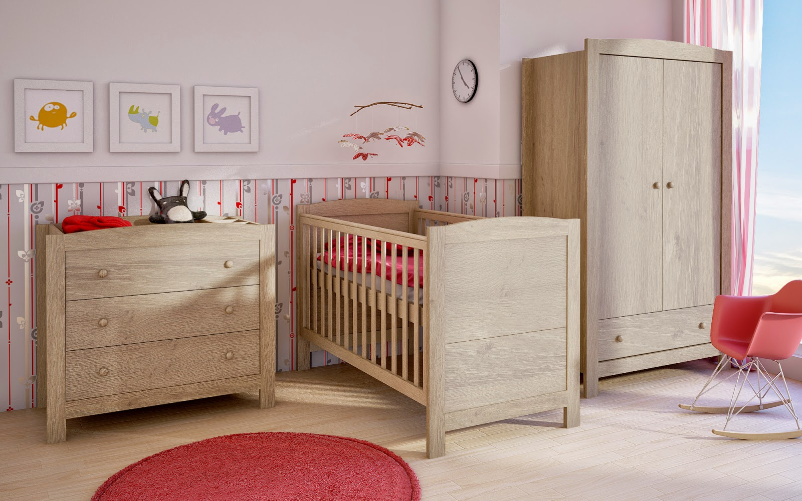 Oak Nursery Furniture Set Sale Petite Dreams