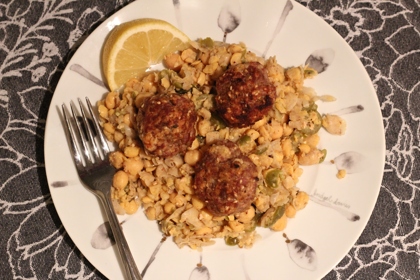 The Kitchen Holiday Sesame Spiced Turkey Meatballs And Smashed