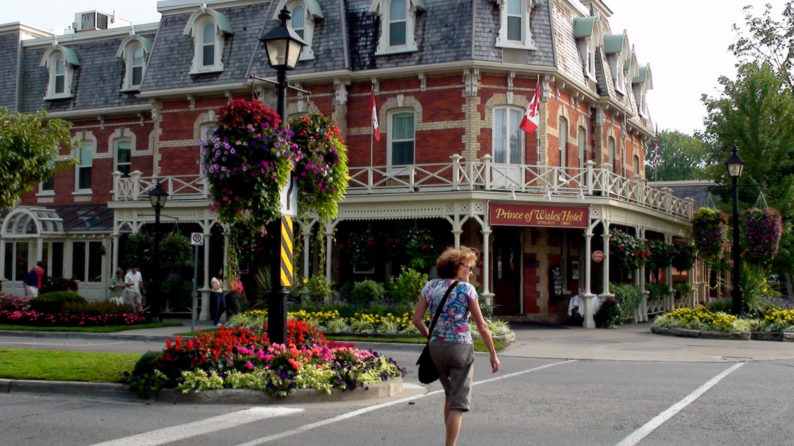 Niagara-on-the-lake is a very pretty city.