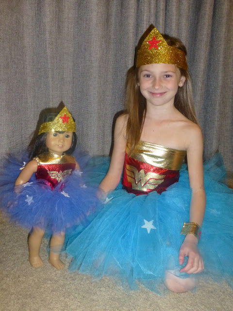 Girl Wonder Woman Costume