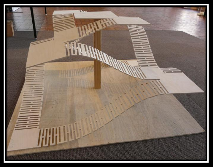 Cnc wood project final cnc design pattern with ¼ thick baltic birch