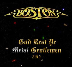 Boston releases Christmas digital single God Rest Ye Metal Gentlemen