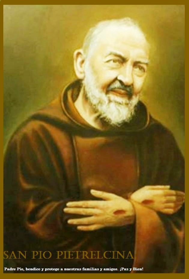 San Pio Pietrelcina.
