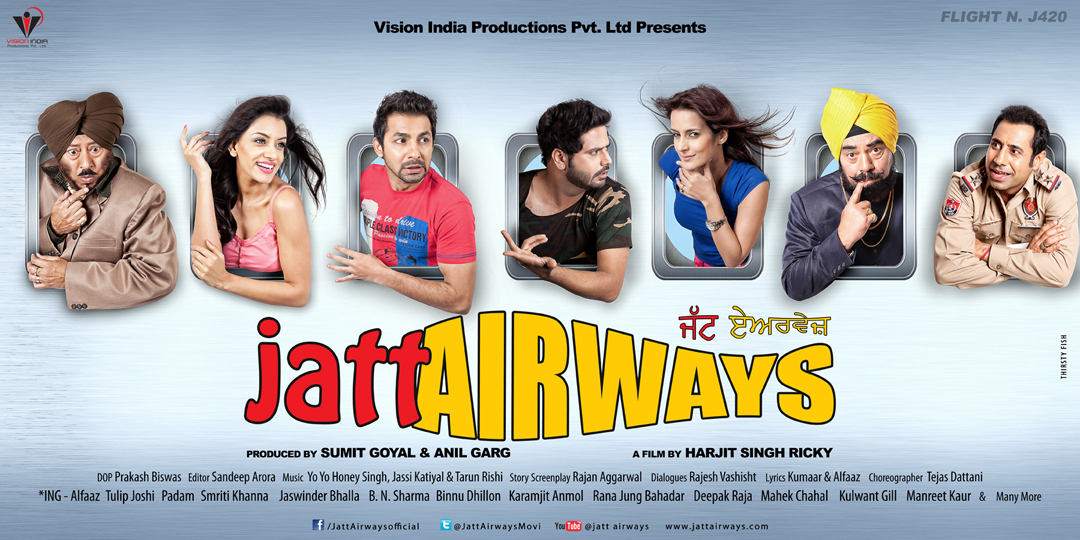 Jatt Airways (2013) *DVDScr* Watch Online
