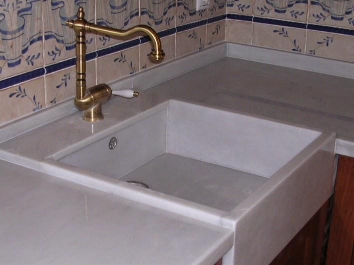 Encimeras de cocina 1 parte for Tipos de marmol para cocina