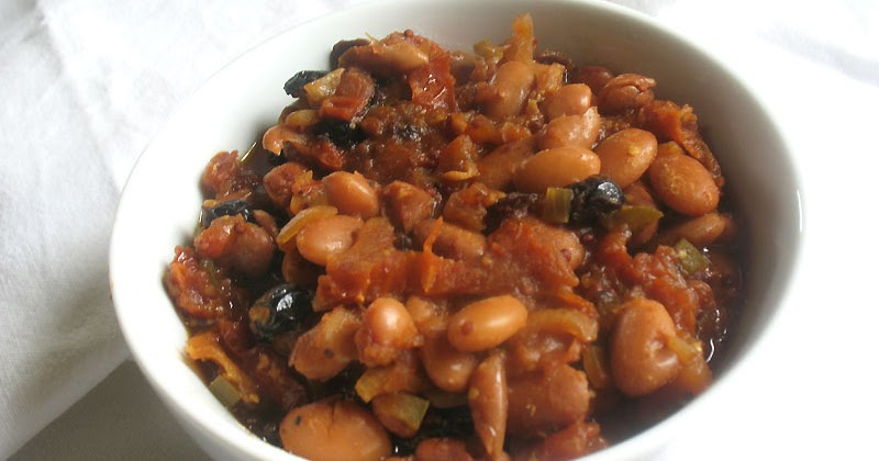 Stove-Top Baked Beans with Apple and Sun-Dried Tomatoes ...