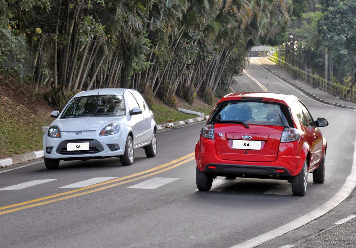 depois, a Ford começará a vender a versão Sedan do Ka no país