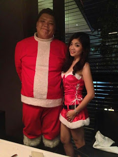 popular Santa and Santarina costume