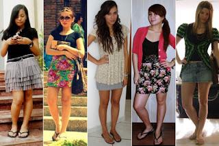 fotos de modelos de vestidos havaianos