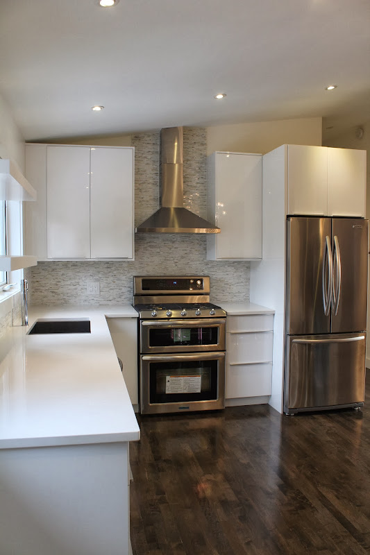 IKEA Gloss White Kitchen Cabinets