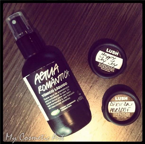 Agua Romántica tonico facial lush