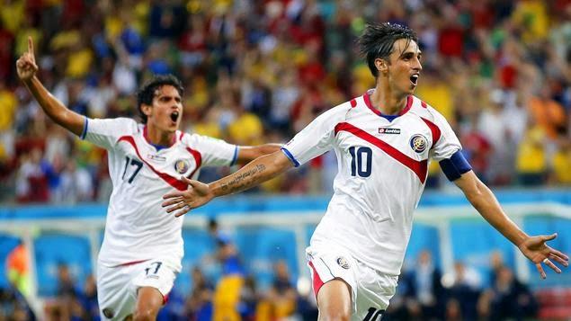 Costa Rica 1 - 1 Gréce