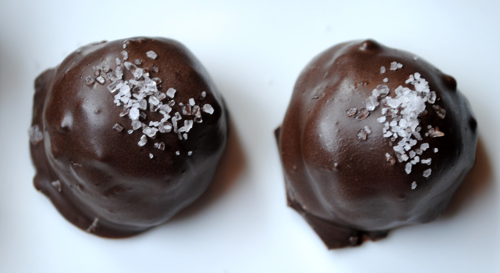 ... chocolate truffles chocolate truffles with sea chocolate and sea salt