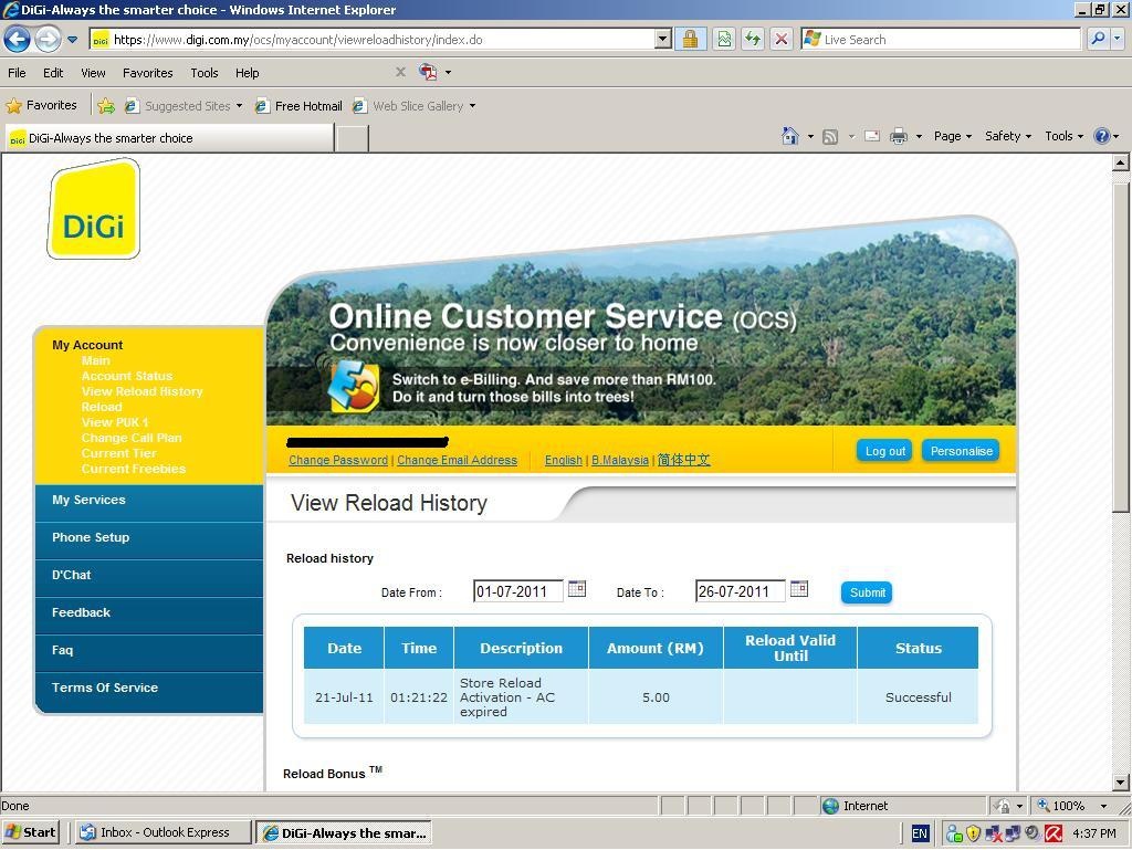 digi.com.my/ocs - DiGi OCS (Online Customer Service) - Zecce.com