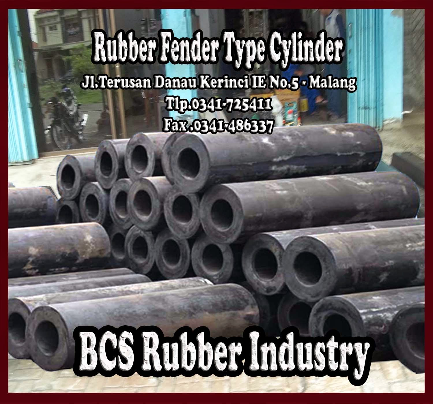 CYLINDER TYPE RUBBER FENDER