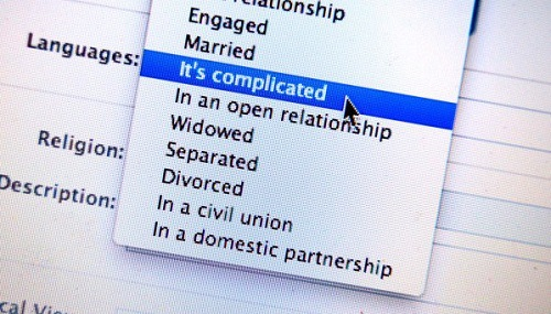 Facebook Take abreak relationship status