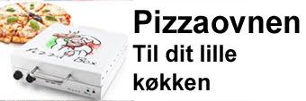 Drop turen til pizzaria, få din egen pizzaovn