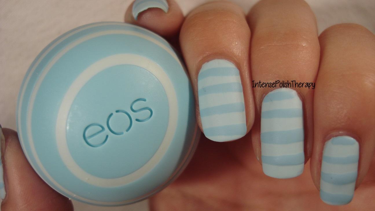 EOS - Vanilla Mint Nail Art