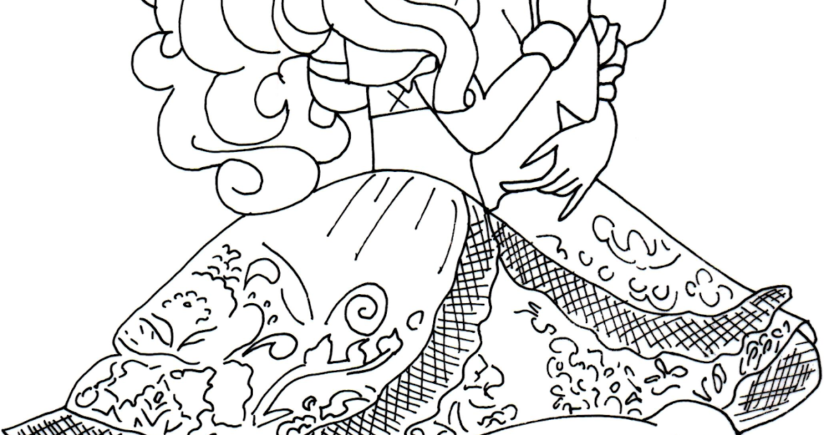 Coloring Pages Apple White : Free printable ever after high coloring pages