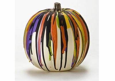 Drip Paint Pumpkins Munchkins And Mayhem