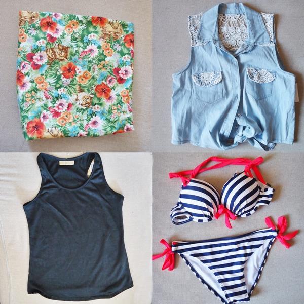 tecido floral, blusas, biquini navy