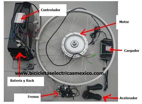 CONOCE NUESTRO KIT PARA CONVERSIÓN A BICICLETA ELECTRICA