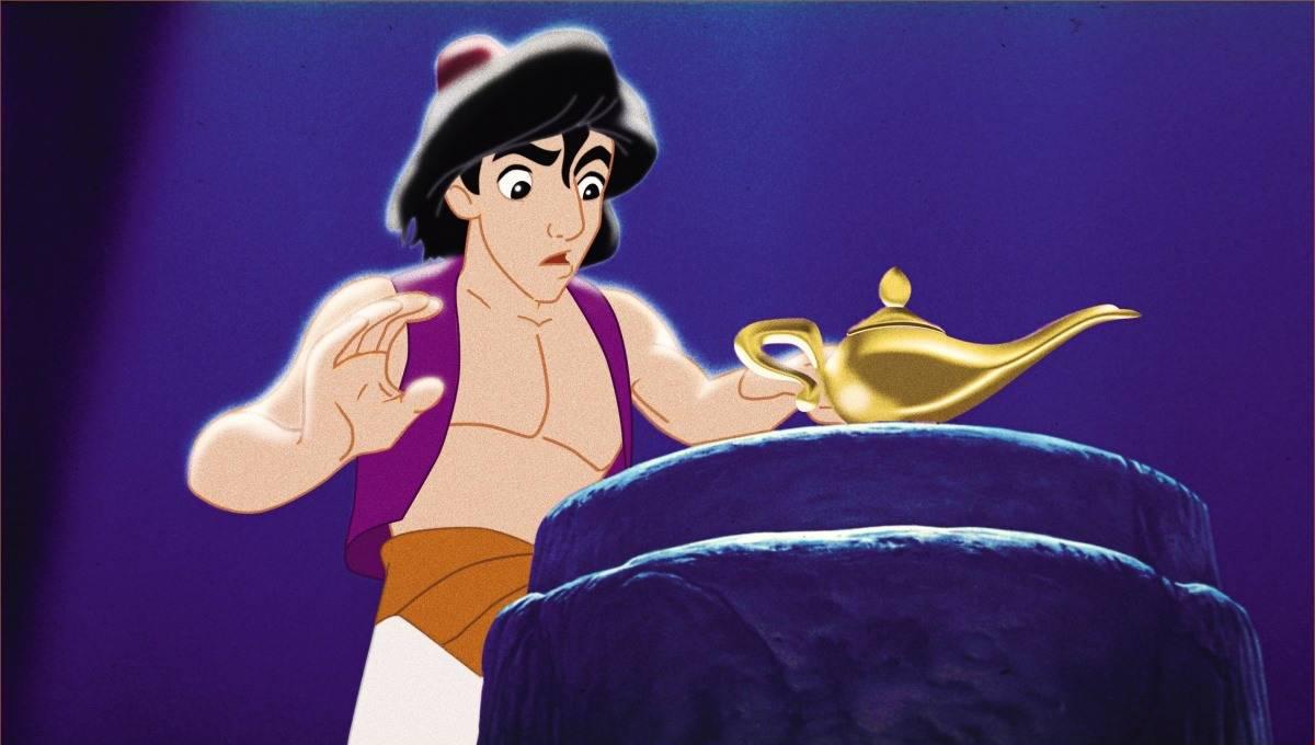 Aladino y la Lámpara Mágica, cuentos para niños