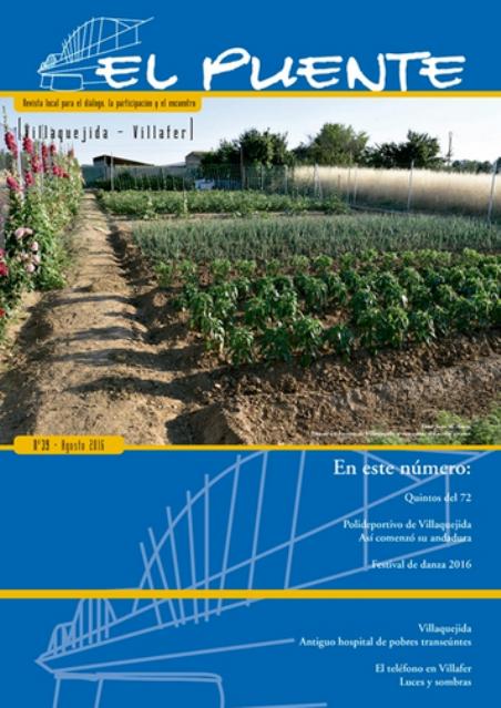 """""""EL PUENTE"""" Revista Cultural Nº39...  con mi aportación  (archivo pdf)"""