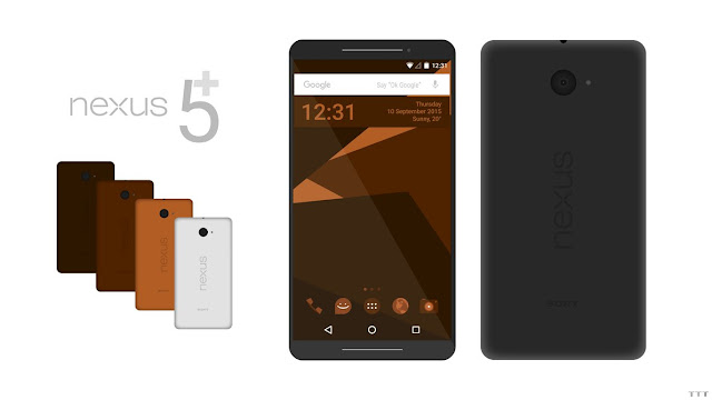 Sony Nexus 5 Plus Concept With Android 8.0 Nutella By TheTechnoToast