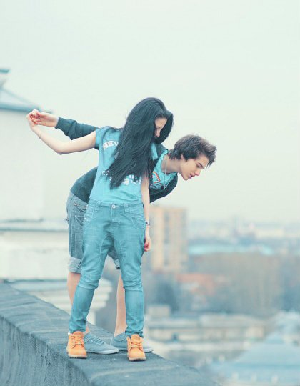 Cuando estamos juntos no somos normales. :D