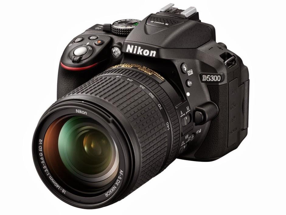 nikon d5200 kamera ini masih menggunakan desain body nikon d5200