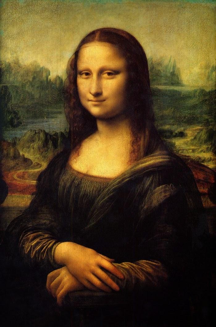 Atelier Fazendo Arte DMC: CURIOSIDADES SOBRE A MONA LISA ... Da Vinci Mona Lisa