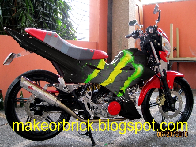 Motorcycle concept decals/paintjob designs