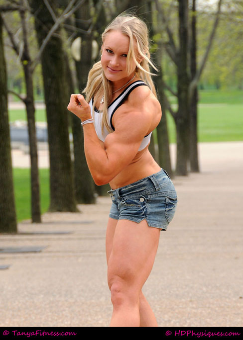 Lindsey Spitler Female Muscle Bodybuilder Blog