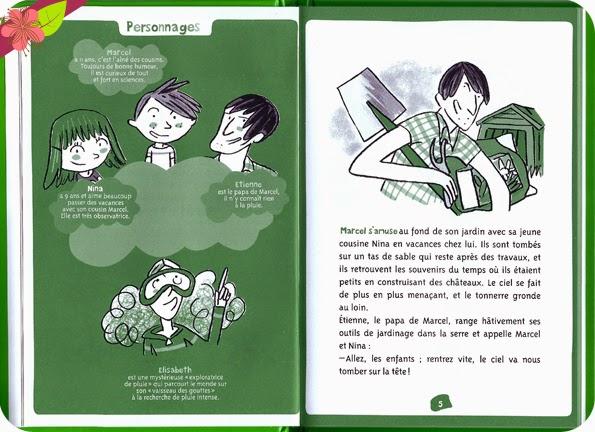La pluie de Auguste Gires et Thérèse Bonté - les Éditions Le Pommier