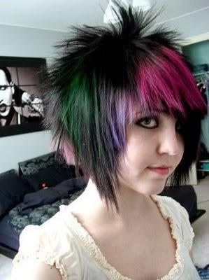 Gaya rambut keren emo