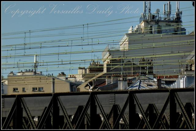 Railway bridge Versailles Chantiers