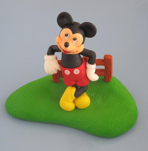 Modelado De Mickey Mouse Para La Pr  Xima Tarta