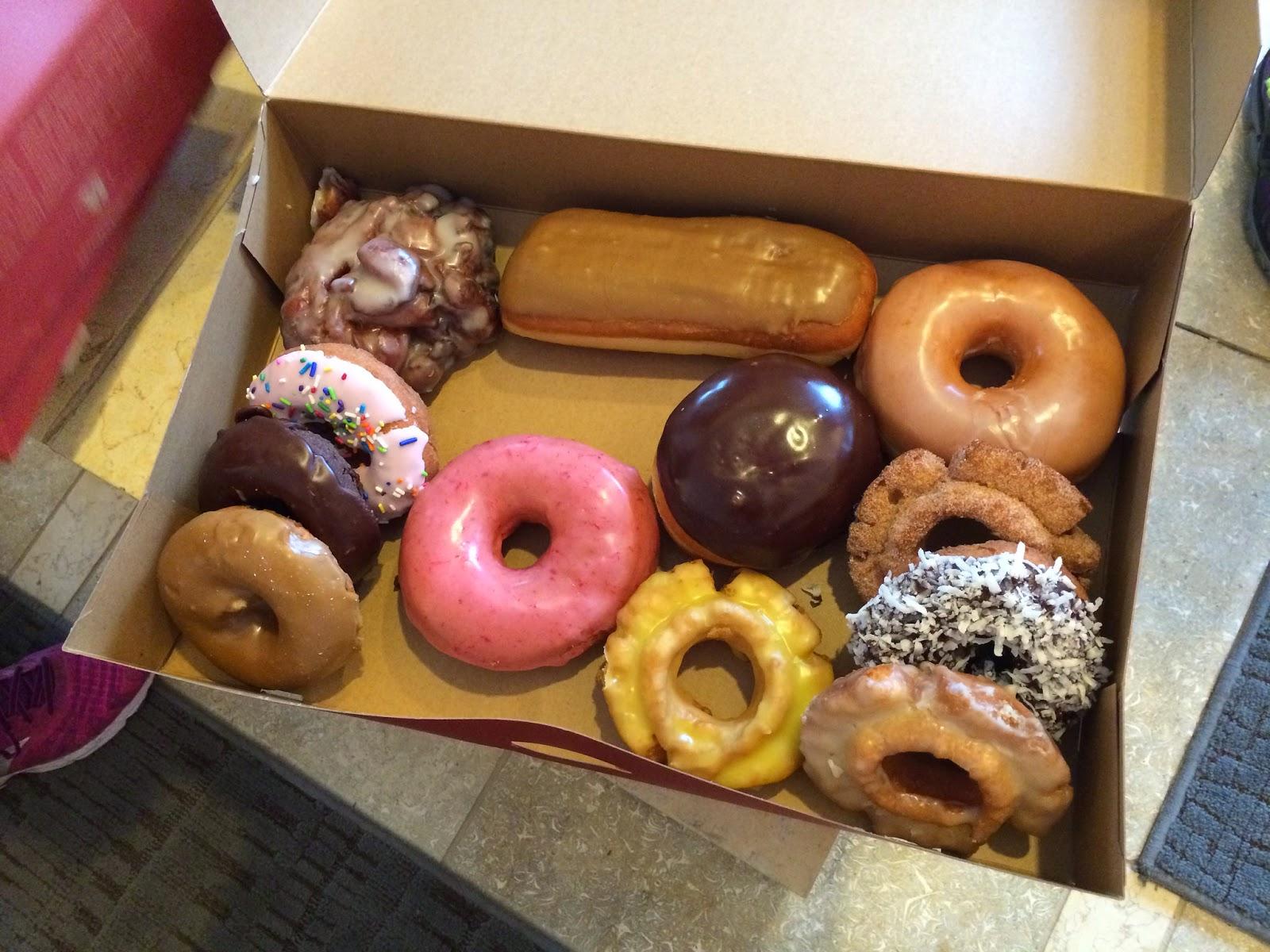 Nuun Hood to Coast Top Pot Doughnuts
