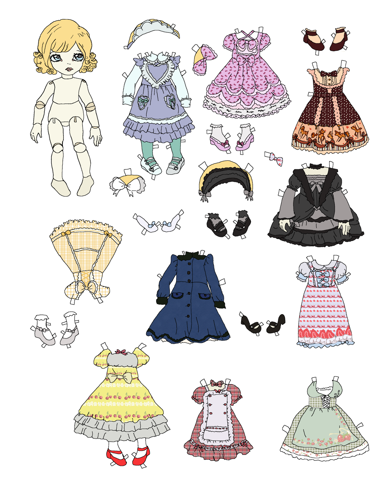 lolita thesis Lolita (ロリータ・ファッション, rorīta fasshon) is a fashion subculture originating in japan during the 1990s that is based on victorian and edwardian.