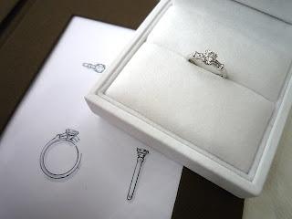 自分のあこがれるスタイルを伝えて自分だけのダイヤモンドリングへ作り変える。