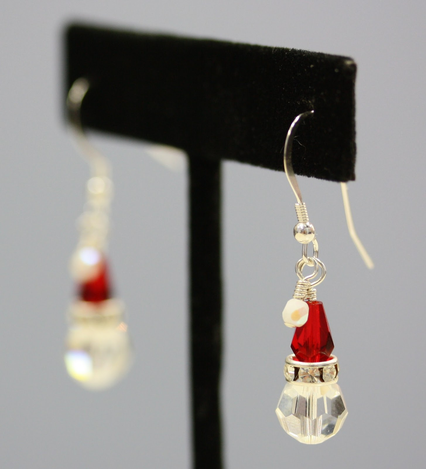 Santa Hat Earrings - Bead World