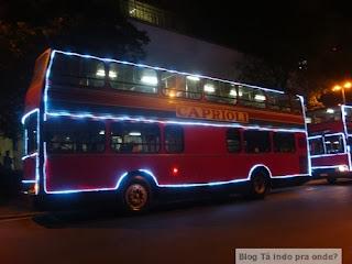 ônibus de 2 andares da Caprioli