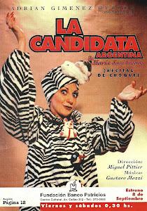 La candidata Argentina. 1997