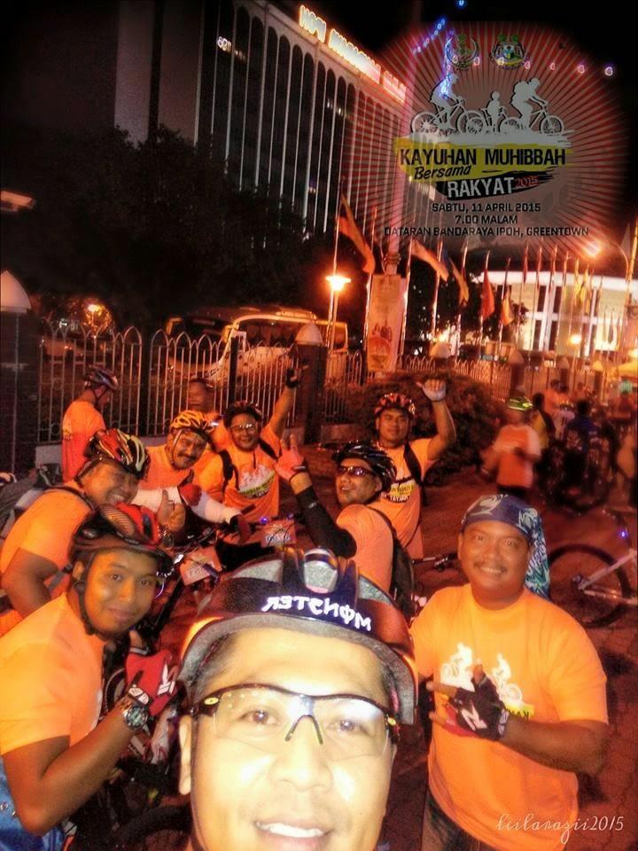 Kayuhan Muhibbah bersama DYMM Sultan Perak 11April 2015